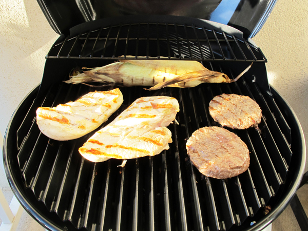 stainless electric grill