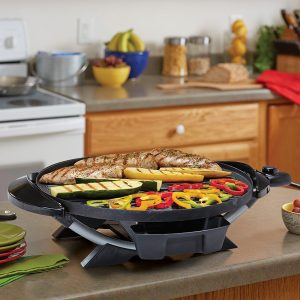 George Foreman GFO240S Indoor/Outdoor Electric Grill3