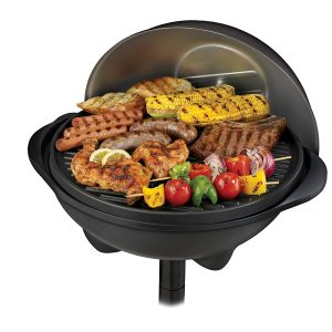 George Foreman GGR50B Indoor/Outdoor Grill - cook a delicious meal