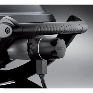 The sleek style of the Weber Q 2400 Electric Grill