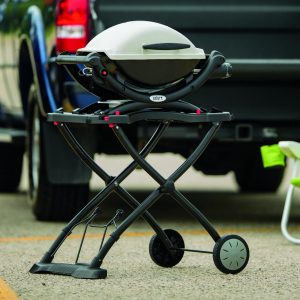 Weber 6557 Q Portable Cart for Grilling1